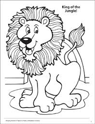 Discover these jungle book coloring pages. King Of The Jungle Amazing Animals Coloring Page Printable Coloring Pages
