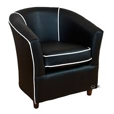 tub chairs leather