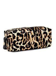 leopard print cosmetic case victoria s secret victoria s secret