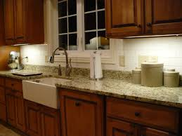 Granite Kitchen Tiles Slate Backsplash Granite Countertop We Tried To Match The Tile