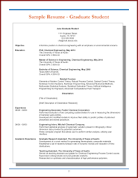 graduate student resume templates resume template builder resume samples for graduate students