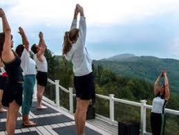 4 days stress relief yoga retreat north carolina