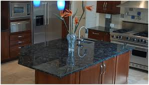 image of volga blue granite home depot