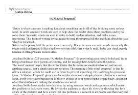 proposal for an essay a modest proposal ideas for essays vnhxsl ...