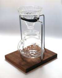 picture of pour over coffee stand warm up