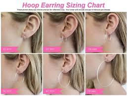 Huggie Hoop Earrings Size Chart Small 14k Gold Huggie Hinged Hoop Earrings 50 Inch 13mm