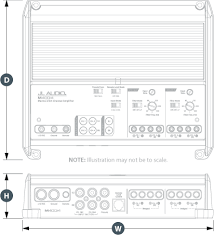 m400 4 marine audio amplifiers m series jl audio physical specifications