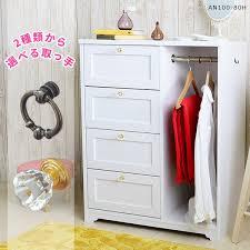 Princess Coat Rack atomstyle Rakuten Global Market Coat hanger hanger rack chest 60