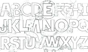 Free Printable Graffiti Alphabet Coloring Pages Toddlers Free