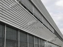 corrugated profiled metal panels for roofing siding