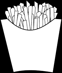 french fries clipart black and white. Beautiful Clipart Download This Image As And French Fries Clipart Black White