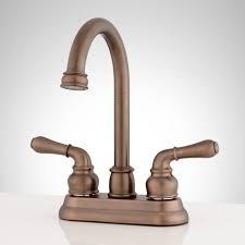 Brannigan Centerset Gooseneck Bathroom Faucet Bathroom