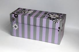 Decorative Shoe Box Decorative embossing patterned Recycled Paper Gift Boxes shoes 48