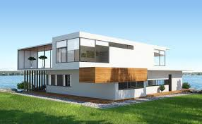 Big modern houses Dream Modern White And Wood Home On Sprawling Lawn Leading To Large Lake The Wow Style 51 Stunning Lake Houses Famous New Old Big And Cozy