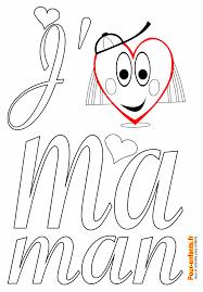 F Te Des M Res Coloriage Imprimer Poeme Dessin Papier Lettres