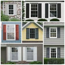 exterior house shutters. Collage Of Exterior Window Shutters House R