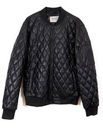Zara Men Faux Leather Quilted Bomber Jacket 2398/404 at Amazon ... & Zara Men Faux leather quilted bomber jacket 2398/404 (Medium) Adamdwight.com