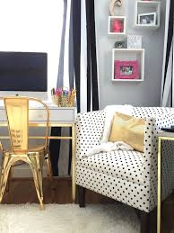 Black White Gold Bedroom Whats Black White And Chic All Over A Teen Bedroom Makeover In