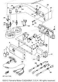 Yamaha waverunner 1997 oem parts diagram for electrical 1