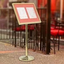 Menu Display Stands Restaurant 100 best menu displays images on Pinterest Menu layout 42