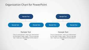 Simple Organizational Chart Template For Powerpoint