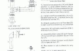 Famous Bathtub Drain Assembly Diagram Photos - Bathtub for ...