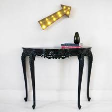 french console tables. Sassy Boo Small Black Console Table French Image 2 Tables