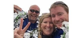 Triumphant Blastoff Racing team appeared at Southampton Boat Show ...