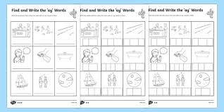 Watch the video below, listen and repeat. Find And Write The Ay Words Differentiated Worksheets