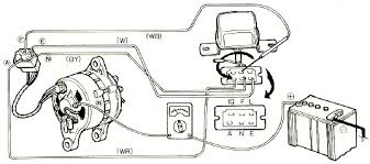 auto charging system wiring diagram wiring schematics and diagrams mazda 929 electrical circuit and charging system checking