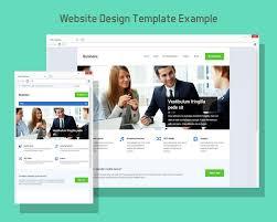 Free Website Design Templates Enchanting Free Browser Website Design Template Mock Up PSD