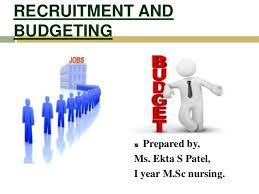 Recruitment And Budgeting Ppt