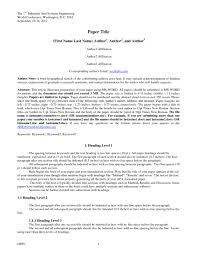 011 Apa Style Research Paper Example 6th Edition Format Best Of