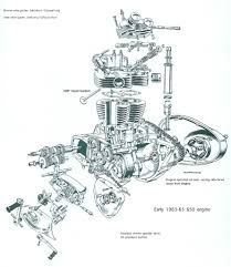 triumph 650 engine diagram triumph diy wiring diagrams description 1963 65 triumph unit 650 engine exploded view triumph engine diagram