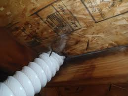 Indianapolis Bathroom Venting Into Attic Space - Bathroom venting into attic