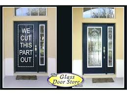entry door glass inserts steel front insert google search bacang gues house
