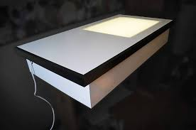 coffee table drawing. Heavenly How To Make A Light Table For Drawing Youtube Coffee Lights Up Maxresde