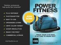 Gym Membership Flyer - Bingo.raindanceirrigation.co