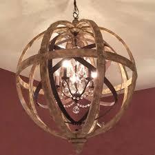 large iron chandelier metal closdurocnoir