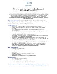 Sales Associate Resume Examples Sales Associate Resume Sample With No Experience RESUME 71