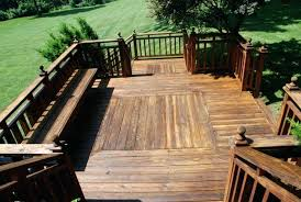 patio deck flooring exteriorssmall backyard deck patio designs ideas with curved seating over pergola roof also
