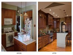 kitchen remodel before and after idea home ideas collection