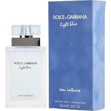 Dolce And Gabbana Light Blue Intense Eau De Toilette Light Blue Eau Intense