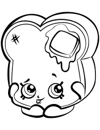 Coloring Pages Shopkins Girl Best Coloring Pages For Kids