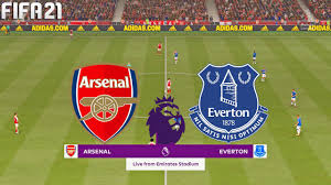 FIFA 21 | Arsenal vs Everton - Premier League - Full Match & Gameplay -  YouTube