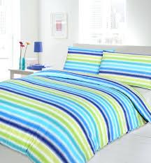 blue and white stripe single duvet cover blue striped duvet cover ikea blue lime turquoise colour