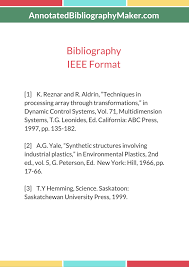 The Best Ieee Bibliography Maker
