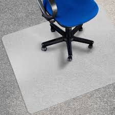 chair mat for carpet floors pp series opaque