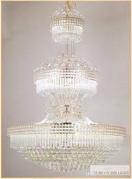 Großhandel Led Moderne Kristall Kronleuchter Gold Kronleuchter Leuchte Warm White Neutral Weiß Cool White 3 Farben Dimmbare Lange Hängeleuchten Von