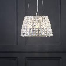 marquis by waterford moy 3 light large bathroom ceiling pendant clear litecraft